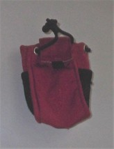 Barbie STACIE School Red Backpack (Goes with Outfit with Hat & Shoes) - $4.50