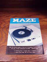 1974 Maze Catalog for Winter, High End Sound Recording and TV Equipment - $9.95