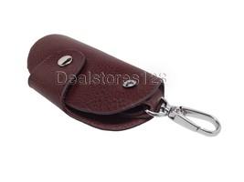 Genuine Leather Key Holder (Dark Brown) - $15.97