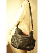 Free Ship Giani Bernini Nice Leather Purse Black Shoulder Bag - $38.00