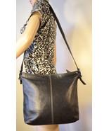Vintage Giani Bernini Soft Leather Black Purse Shoulder Bag - $28.00