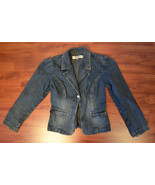 Vintage Paris Blues 80's Girls Denim Jacket Jean Coat S Small Blue - $18.00