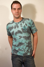 Vans Off the Wall Turquoise Tie-Dye T-Shirt Vans Skateboard with Dagger ... - $15.00