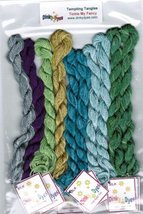 SILK FLOSS PACK for Tickle My Fancy cross stitch chart Dinky Dyes - $36.00