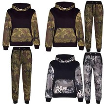 Camouflage set of military trousers and airsoft sweatshirt - $38.00