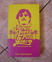 jesus loves porn stars bible book new testament contemporary language xx... - $24.74
