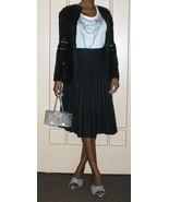 1970s vintage liza disco black sequins jacket coat cardigan size small x... - $49.49