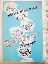 MODERN MENU MAGIC COLDSPOT RECIPES MID-CENTURY ... - $5.99