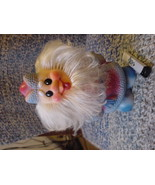 Vintage Russian Soviet Rubber Toy Ded Moroz Santa Claus 1970 - $19.79