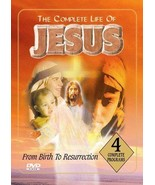 Complete Life Of Jesus DVD From Birth To Resurrection COMPLETE Very Clea... - $9.89
