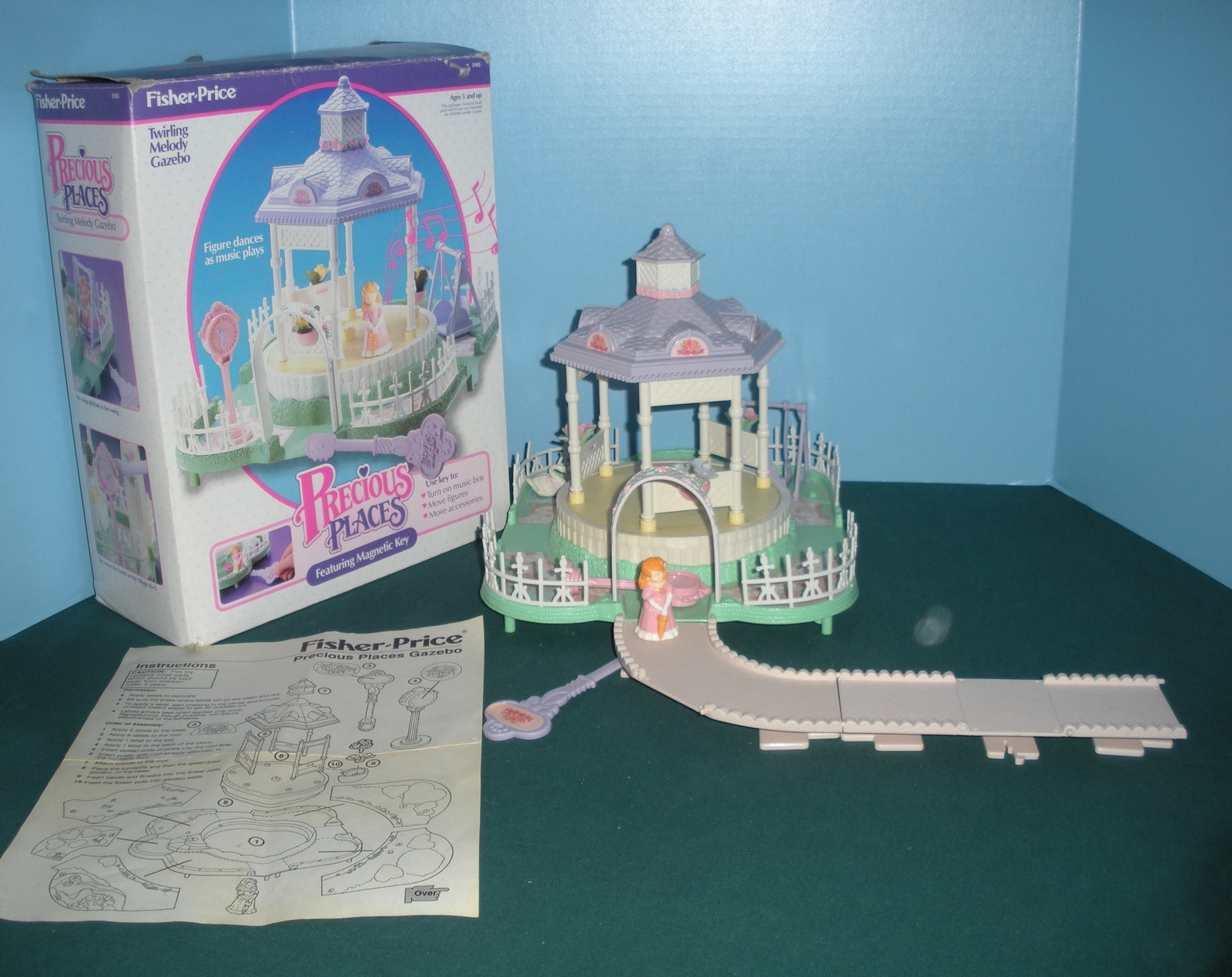 Primary image for Vtg. Fisher Price Precious Places #5165 Twirling Melody Gazebo Comp. w/Box/NR MT