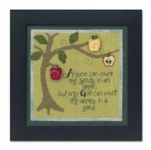 Seeds ATH1021 button pack + Art To Heart cross stitch JABC - $19.35