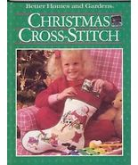 Better Homes and Gardens Christmas Cross-Stitch book - $5.00