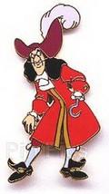 Disney Captain Hook full body Peter Pan  Villain  pin/pins - $19.30