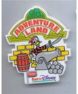 Disney Donald Duck Adventure Land  Euro Disney Magnet - $14.84