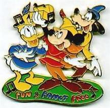 Disney  Goofy Donald Mickey Musical Moments  Pin/Pins - $19.98
