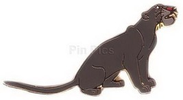 Disney Jungle Book Bagheera the panther full body Sitting position pin/pins - $29.02