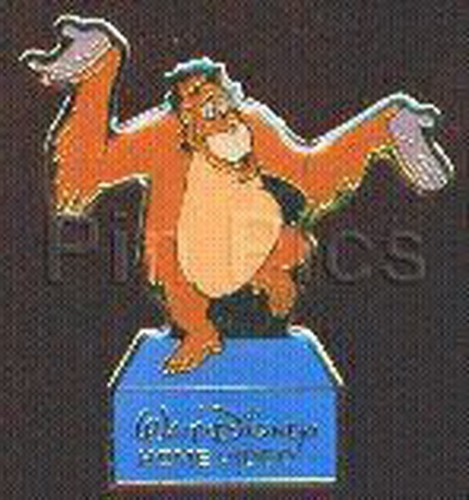 Disney Jungle Book King Louie orangutan monkey full body Home Video Event pin