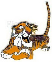 Disney Jungle Book Shere Khan  tiger full body lying down tail in air pi... - $24.18