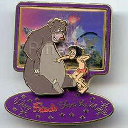 Disney Jungle Book DLR - Where Friends Share the Magic (Jungle Book) LE pin/pins