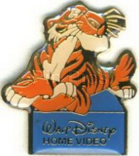 Disney Jungle Book Shere Khan the tiger full body Home Video Event pin/pins