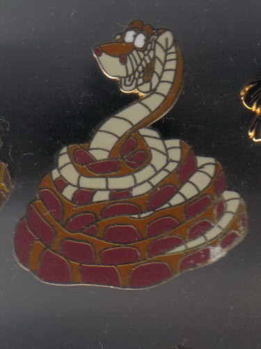 Disney Kaa  snake from Jungle Book full body Coiled Up  pin/pins