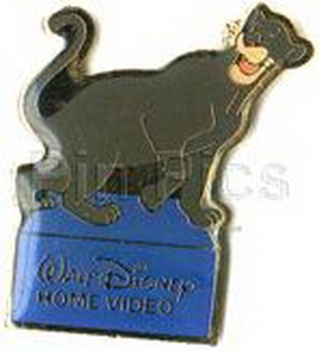 Disney Jungle Book Bagheera the panther  full body Home Video Event pin/pins
