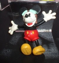 Disney Mickey Mouse Mickey  Plane Crazy Airplane  Pilot  PVC Figurine LO... - $19.98