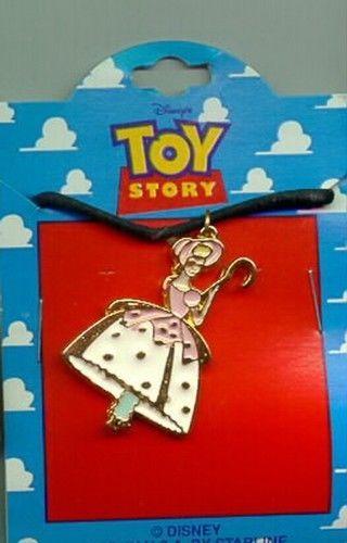 Disney Toy Story 1 Bo Peep Full body  Necklace On Original Card