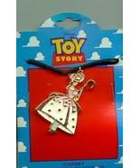 Disney Toy Story 1 Bo Peep Full body  Necklace On Original Card - $14.50
