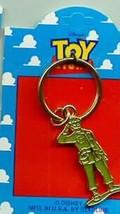 Disney Toy Story 1 Green Army Man Full body  Key Chain On Original Card - $31.44