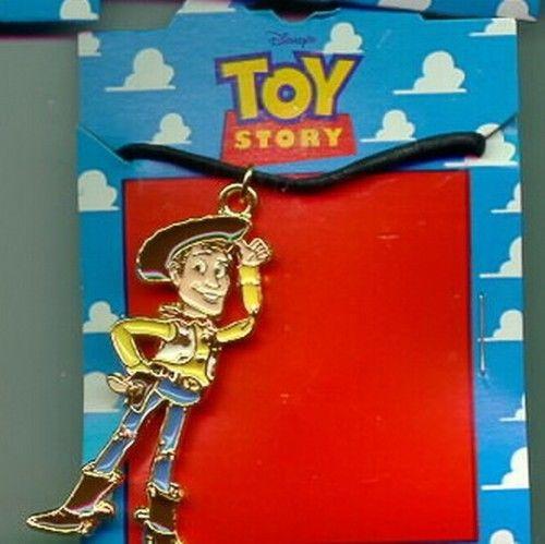 Disney Toy Story 1  Full body  Necklace On Original Card