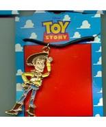 Disney Toy Story 1  Full body  Necklace On Original Card - $14.50