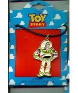 Disney Toy Story 1 Buzz Lightyear  Full body  Necklace On Original Card - $14.50