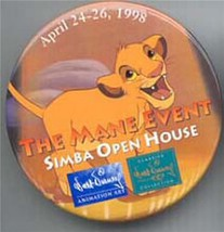 Disney WDCC Lion King Simba dated 1998 event Pin/button - $9.99