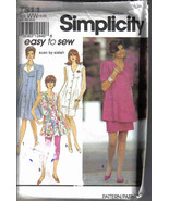 Simplicity 7811 maternity Pattern 18 20 22 24 dress tunic leggings skirt... - $7.77