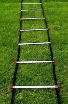 Speed training agility ladder 21 feet Soccer Equipment free drills dvd - $23.75