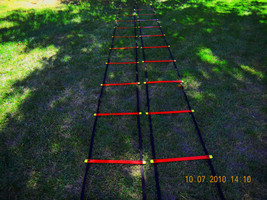 Soccer Speed Agility ladder rope quickness fast feet - $26.72