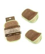 Rucci Jute/ Bamboo Soap Bag (Pack of 3) RL462 - $8.20