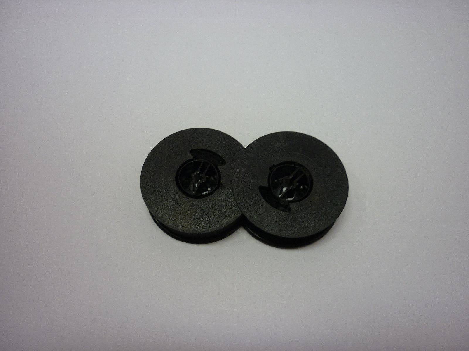 Brother 600 Deluxe 700 Deluxe Typewriter Ribbon Twin Spool Black (2 Pack)