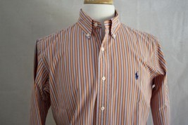 Ralph Lauren Men's Long Sleeve Classic Fit Button Down Dress Shirt M - $19.79