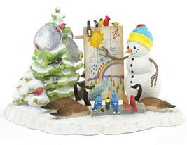 Lenox A Snowy Forecast Snowman Holiday Figurine Lynn Bywaters 2019 New in Box - $148.90