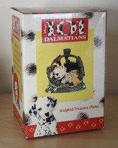 New Disney 101 Dalmatian 3D Sculpted Treasure Wind Chime Dog Dalmation Baby Chic - $16.99