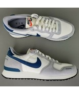Nike Air Vortex Suede Running Athletic Shoes Size 9 Mens White Blue Gray... - $116.86