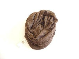 $38.00 Echo Design Metallic Infinity Scarf, Brown, O/S - $8.86