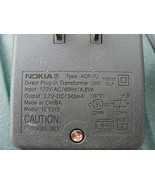 Nokia ACP-7U AC Adapter 3.7V-DC Cell Phone Power Supply - $3.95