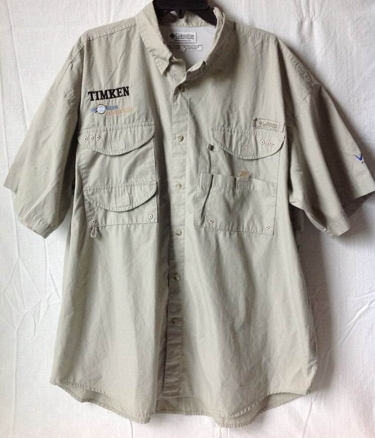 7ea905e1b3c t2ec16n ee9s2ufh sbrzulbii 60 57. t2ec16n ee9s2ufh sbrzulbii 60 57.  Previous. Columbia PFG Mens Performance Fishing Gear SS Shirt Khaki Vented  Quick Dry XL