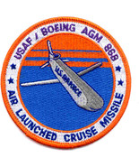 United States Air Force Boeing Air to Ground Missile AGM-86B SP-225 Patch - $11.87