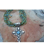 Large Cross Choker Necklace - $45.00