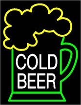 Cold Beer Bar Neon Light Sign 16'' x 14'' - $599.00
